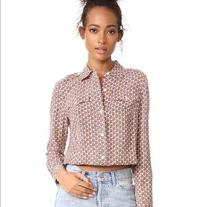 NWT Tory Burch Quincy Top